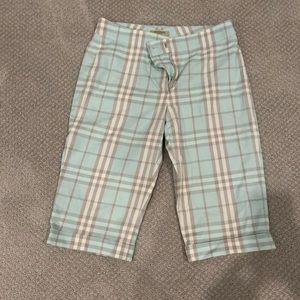 Burberry golf shorts
